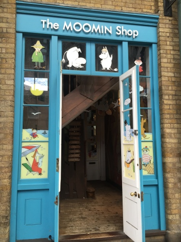 A Little Slice of Moomin Valley: Covent Gardens Moomin Shop